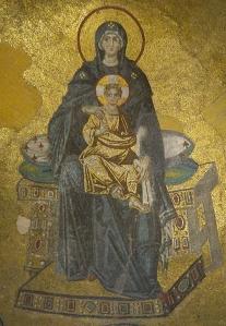 Hagia Sophia Virgin Mary