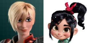Wreck it Ralph, Vanelope Von Sweets and Sgt. Calhoun, Disney