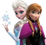 Ana and Elsa, Frozen, Disney Princess