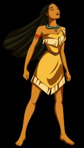 Pocahontas, Disney princess