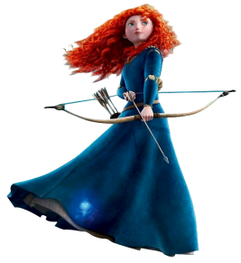 Merida, Brave, Disney Princess, Pixar