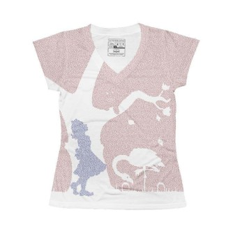 Alice in Wonderland by Lewis Carol Lithographs shirt
